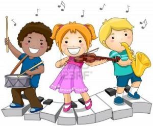 IMAGEN NIÑOS MUSICA
